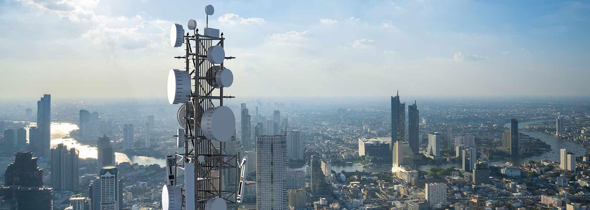 Telekommunikation mit 5G Netz