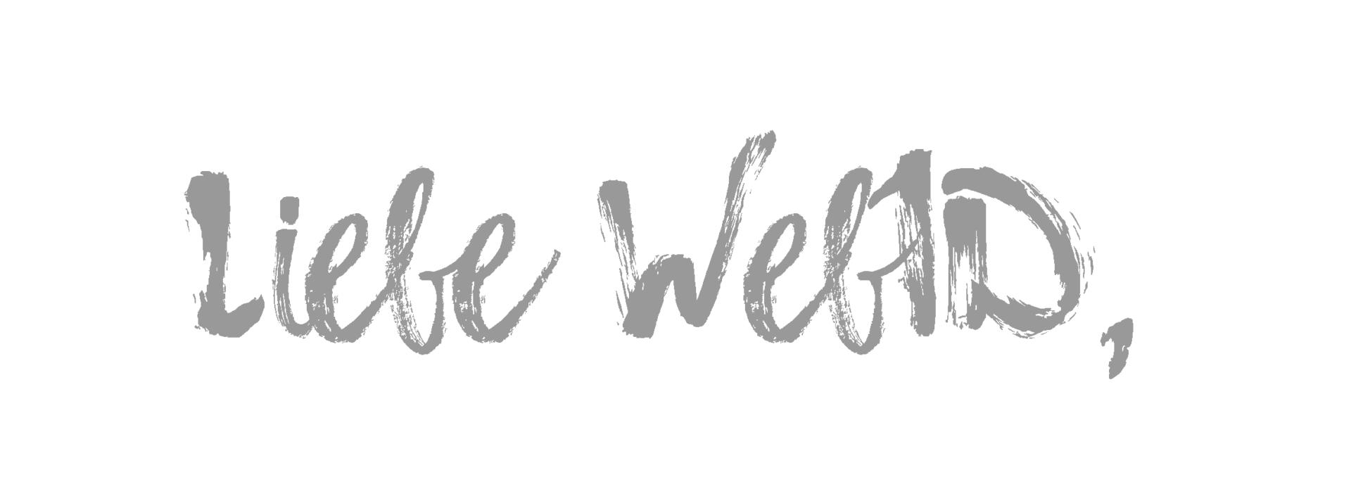Bild mit Handschrift: Liebe WebID,...